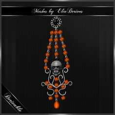 Some time since I posted anything new, but getting back into creating, so new mesh is out. Skull Earrings... not only fitting for Halloween :D http://www.imvu.com/shop/product.php?products_id=35182697