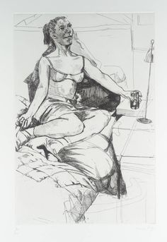 Artwork page for 'Pomagne', Paula Rego, 1996 Lucian Freud, David Hockney, Beatrix Potter, Figure Painting, Figure Drawing, Nadir Afonso, Feminist Art, Art Database, Portraits