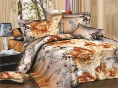 Dexim 3D Print Double Bed Sheet With Two Pillow Cover Set @ Rs.799.00