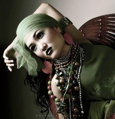 Love this glamour boho photo! ~ trish :-)   #boho #bohemian #clothes #fashion #glam #glamor
