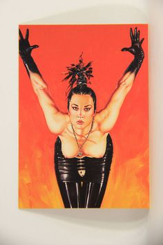 L008672 Olivia DeBerardinis 1992 Card #33 - She Came From Planet Claire / Pin-Up