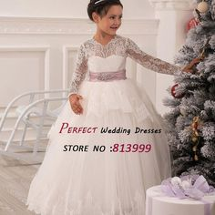 http://babyclothes.fashiongarments.biz/  2016 New Fashion Vestidos De Fiesta Chritsmas Lace Flowers Girl Dresses Long Sleeves Hollow Back Bow Sash Princess Gown AR1121, http://babyclothes.fashiongarments.biz/products/2016-new-fashion-vestidos-de-fiesta-chritsmas-lace-flowers-girl-dresses-long-sleeves-hollow-back-bow-sash-princess-gown-ar1121/,  ,  For Standard Size,  System default size is US size.EG:If you choose size 8, system would be US size 8,Bust:90cm, Waist:72cm…