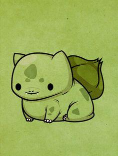 Pokemon - Bulbasaur by ~beyx on deviantart