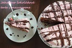 karolina-azzaro: Jahodovo čokoládová torta s mascarpone Azzaro, Rum, Decorative Plates, Tableware, Mascarpone, Dinnerware, Tablewares, Rome, Dishes