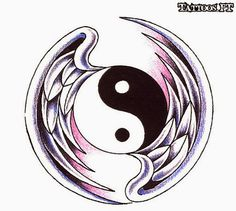 yin yang angel devil | yin yang tattoos ideas designs yin yang tattoos designs