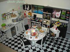 Barbie Kitchen Diorama | Flickr - Photo Sharing!