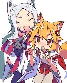 Sewayaki Kitsune no Senko-san Loli Kawaii, Kawaii Chibi, Cute Neko Girl, Sans Art, Neko Cat, Fox Girl, Thicc Anime, Estilo Anime, Pedobear