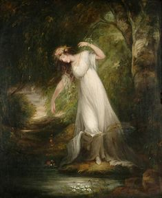 Ophelia 水に沈むオフィーリア