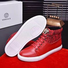 2f03b7a76ec We sell Versace High-top Sneakers with the discount prices