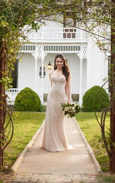 Wedding Dresses | Art-Deco Inspired Vintage Wedding Dress | Martina Liana