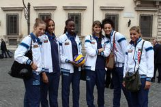 Ofelia Malinov, Sara Bonifacio, Paola Egonu, Cristina Chirichella, Valentina Diouf, Noemi Signorile.