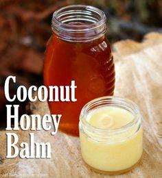 How to Make Homemade Coconut Honey Balm