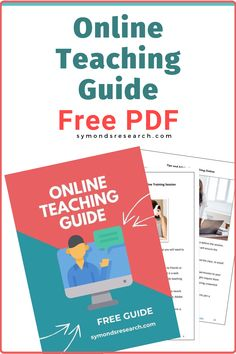 Get your Free Online teaching guide pdf. Download it complimentary and useful of you are an online teacher, trainer or tutor. Learning Websites, Learning Tools, Teaching Strategies, Teaching Tips, Basic Business Plan, Business Money, Online Business, Pshe Lessons, Esl Lesson Plans