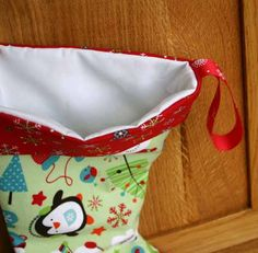 Next in our Gifts, Decorations and Craft Fairs series is this super cute Christmas Stocking..... We made this lovely stocking from soft...