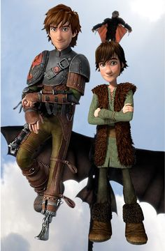 Older Hiccup (How to Train Your Dragon 2) by TheGrzebol on deviantART