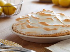Alton Brown's Lemon Meringue Pie. I made this minus the meringue... and it turned out a little soft, not quite soupy, but soft enough to run a bit when cut, even after chilling overnight in the fridge. GREAT flavor, so I'm gonna try it again.. just tweaked some.