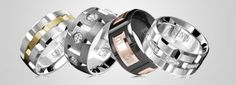 Finding the Right Wedding Band Material: Mens Edition   The variety of metals being used for mens wedding bands has greatly increased over the years. While traditional metals are still around and here to stay some alternative materials are being turned into beautiful rings that can stand the test of time and are becoming more and more attractive to todays couples. Scroll down below to read about each of the materials.  While looking for your wedding band there are a few key things you should…