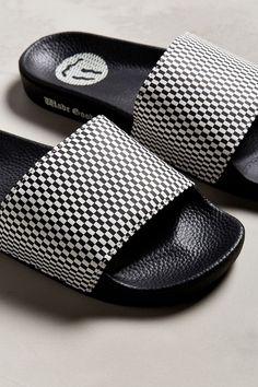 0afb3dd063161 Urban Outfitters Vans X Wade Goodall Sport Slide Sandal - Black Slide  Sandals