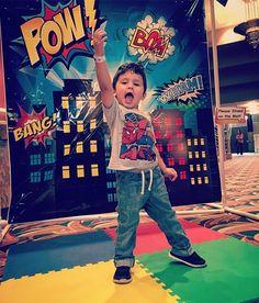 Brysen had fun today at Stephen Fite. Make sure to bring the kids to Wild Kratts Live next month! #cutekids #superhero #superkids #stephenfite #dressup #kidsshow #topeka #topcity #visittopeka #wildkratts
