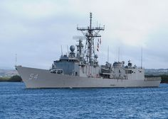 US Navy 100707-N-0641S-215 SS Ford (FFG 54) departs Joint Base Pearl Harbor-Hickam to support Rim of the Pacific (RIMPAC) 2010 exercises - Oliver Hazard Perry-class frigate - Wikipedia, the free encyclopedia