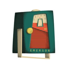 1960's Transistor Radios by Daniel Long, via Behance