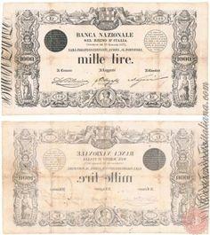 1000 LIRE - 1872 1873