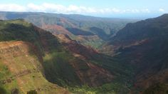 Puu hinahina lookout point, Waimea Canyon, Kauai, Hawaii