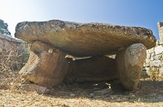 Dolmen di Alzoledda - Sardinia, Italy