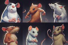 ArtStation - Mice concepts, Mac Smith