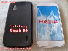 Kode Barang 1958 Jual Silikon Soft Case LG Google Nexus 4 E 960 Hitam (Black) | Toko Online Rame - rameweb