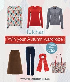 Enter our latest competition to win a A/W wardrobe worth £350 from @TulchanTextiles! Ends midnight 29 Sept!