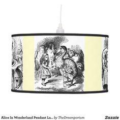 Alice In Wonderland Pendant Lamp