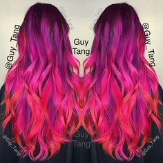 Kenra Color Creatives Violet, Pink and Red! #guytang