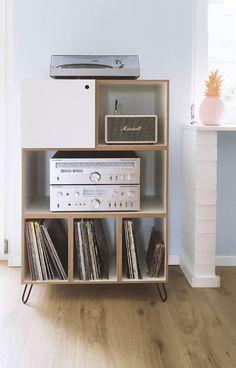 die besten 25 schallplatten aufbewahren ideen auf pinterest plattenregal plattenregal und. Black Bedroom Furniture Sets. Home Design Ideas