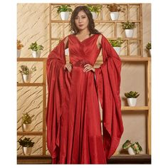 A red dress gives the confidence to walk out, the freedom to live and the power to conquer. Saving the red dress for you. Rent the best look only at www.rentanattire.com. . . . . . . . Do visit our website www.rentanattire.com or call us at 7722009477 #redgown #gownmoment #gownsonrent #dress #gowninspo #affordableoutfits #RAAforsustainablefashion #rentanattire #designerwear #rentingistrending #sustainablefashion #reduce #reuse #recycle #consumeless #onlinerenting #circularfashion #indianatti