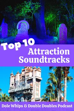 On this episode we countdown the best Walt Disney World attraction soundtracks and songs. What's your favourite? Did it make our top 10 list? #DoleWhips #DisneyRides #WaltDisneyWorld #Podcast #Disney Disney World Attractions, Disney World Rides, Disney Vacations, Disney Parks, Walt Disney World, Disney Planning, Disney Home, Hollywood Studios, Magic Kingdom