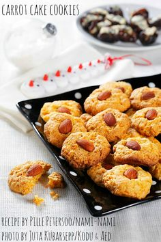 Holiday baking recipe: carrot cake cookies (egg-free). By Pille @ Nami-Nami