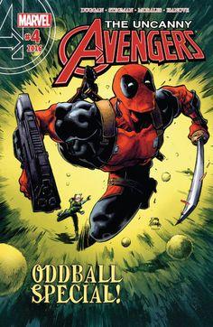 Uncanny Avengers (2015) #4 #Marvel #UncannyAvengers (Cover Artist: Ryan Stegman)…