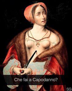 """Joos van Cleve ."""" Il suicidio di Lucrezia """""""