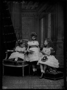 Louise Victoria, Victoria Alexandra and Maud Charlotte