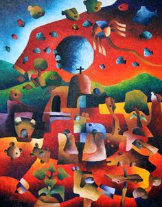 """Souvenirs, Retorno Ilusion"" - Mario Sagastume Latin American Art"