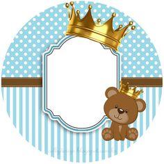 Tedy Bear, Baby Shower Niño, Baby Shower Invitaciones, New Baby Products, Panda, Baby Boy, Paper Crafts, Clip Art, Kitty