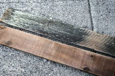 The easiest way to clean reclaimed wood / before and after / FunkyJunkInteriors.net