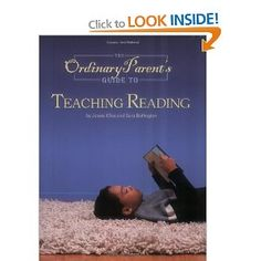 Amazing book on teaching reading.  Highly recommend!