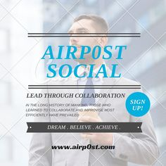 Airpost leadership poster www.airp0st.com