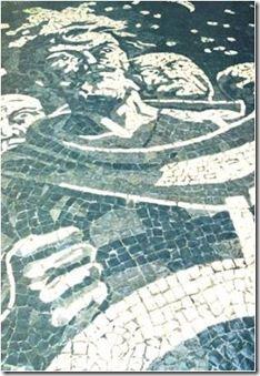 Portugal, Paver Designs, Driveway Design, Pebble Mosaic, Portuguese Tiles, Paths, City Photo, Macau, Artist