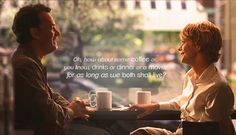 To movies and quotes that permanently screwed up your romantic expectations Meg Ryan, Forrest Gump, Love Movie, I Movie, Movie Scene, Movies Showing, Movies And Tv Shows, Francis Huster, You've Got Mail