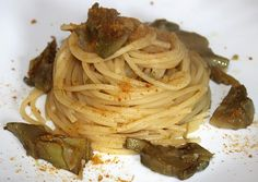 Spaghetti Carciofi e Bottarga
