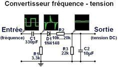convertisseur frequence tension passif simple ,précision: environ de 2%