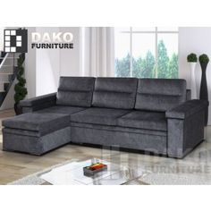 Corner Sofa Bed Aspen Option
